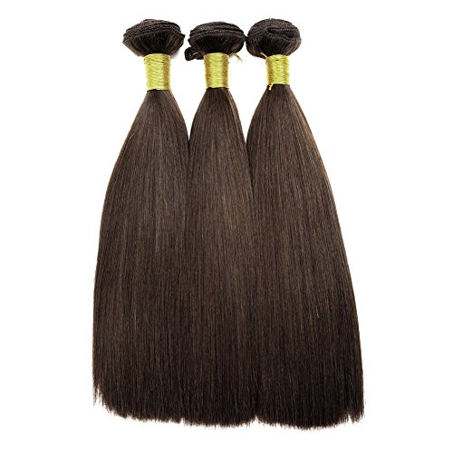 Double-Drawn-16-339g3Bundles-Yaki-Hair-Weft-for-Black-Women-7A-100-Real-Natural-Brazilian-Virgin-Remy-Human-Hair-Weave-Extensions-Full-Head
