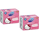 """Hello Kitty"" Dial Soap 4-bars"