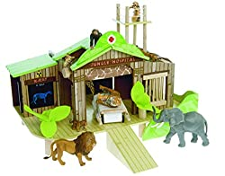 Jungle Hospital - Wooden Wildlife Hospital and Rescue Center