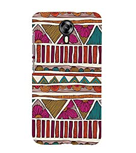 Abstract Pattern 3D Hard Polycarbonate Designer Back Case Cover for Micromax Canvas Xpress 2 E313 :: Micromax Canvas Xpress 2 (2nd Gen)