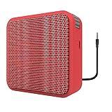 Portronics POR-511 Cubix II Wired Portable Speaker - RED