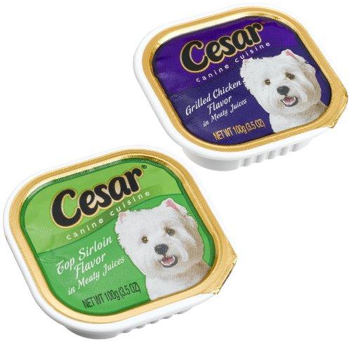 Cesar Canine Cuisine Dog Food   Oz Pkg