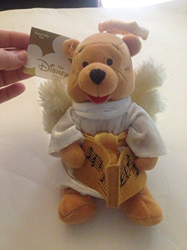 "The Disney Store Choir Angel Pooh 8"" Bean Bag Plush - 1"