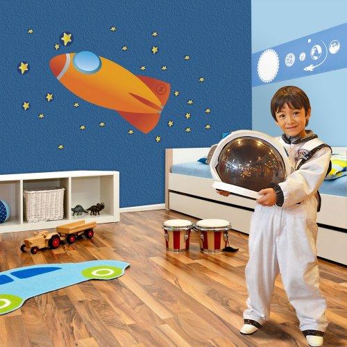Mona Melisa Designs, Big Peel and Stick Decal, Spaceship - 1