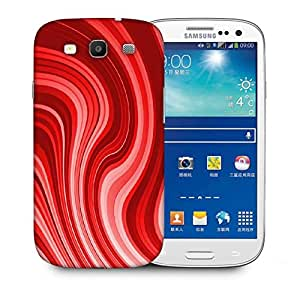 Snoogg Flow Design 2369 Designer Protective Back Case Cover For Samsung Galaxy S3