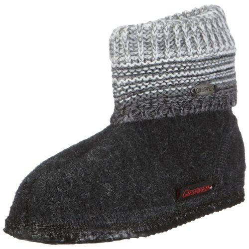 Giesswein Unisex - Children's Baumkirchen 45035 Slippers grey EU 32