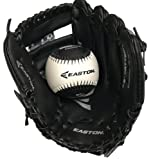 "Easton Black-Ops Tee Ball 9.5"" Glove and Ball Set (Right Hand Throw)"