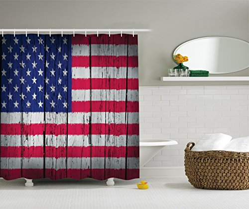 american-flag-shower-curtain-usa-decor-by-ambesonne-traditional-flag-picture-on-the-aged-wooden-wall
