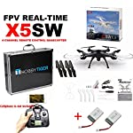Syma X5SW Explorers-II WIFI 2.4G RTF RC Quadcopter Drone+Luxury Carrying Case
