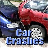 Auto, Crash - Car Impact Into Brick Wall, Tire Screech, Hubcap, Horn, Radiator Steam Car Crashes, Blockbuster Sound Effects