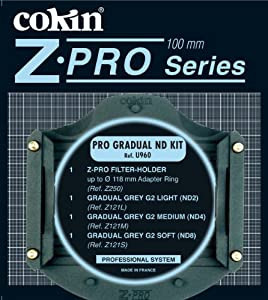 Cokin U960 Z-Pro ND-Gradual Kit (Import Royaume Uni) (Import Royaume Uni)