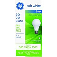 GE Lighting974933-Way Bulb-30/100W SW 3-WAY BULB