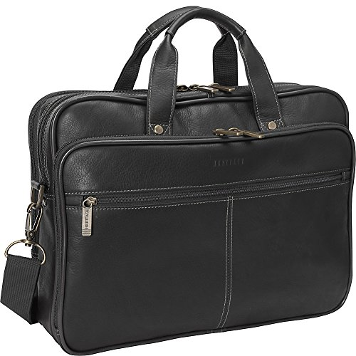 heritage-double-gusset-top-zip-computer-case-with-lined-interior-black-one-size