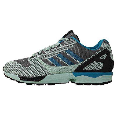 Adidas Men'S Zx Flux Weave , Onix/Frozenmint/Black, 8.5 M Us