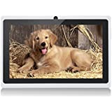 JEJA 7 Zoll Android Google Tablet PC 4.2.2 8GB WiFi Dual Core Dual Camera Capacitive Touch Screen Allwinner A23 DDR3 1.5GHz 512MB Weiß