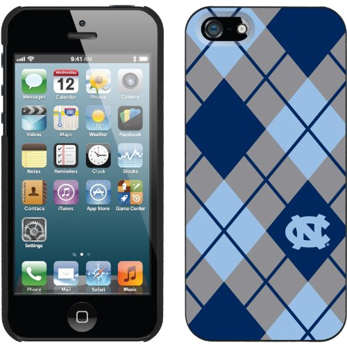 Great Sale North Carolina Argyle design on a Black iPhone 5 Thinshield Snap-On Case by Coveroo