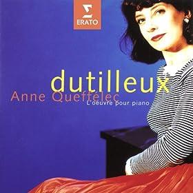 Dutilleux: L'oeuvre pour piano