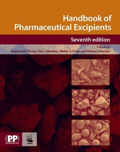 Handbook of Pharmaceutical Excipients (Rowe, Handbook of Pharmaceutical Excipients)