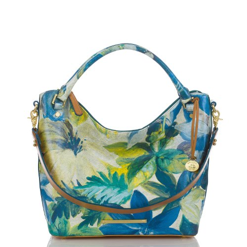 Norah Hobo Bag<br>Blue Fiji