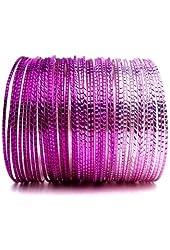 Shades of Pink Bangle Bracelet Set of 50 (Fifty)