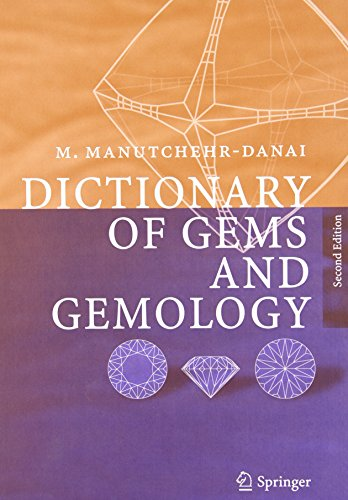 Dictionary of Gems and Gemology (Spanish Edition) PDF