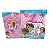 Disney Doc Mcstuffins 2 Piece Bundle Includes Pretend And Play Lights And Sounds Stethoscope And Col