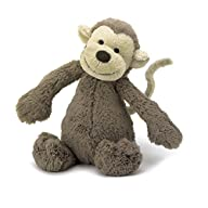 Jellycat Bashful Monkey – Medium