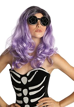 Rubie's Costume Deluxe Fame Monster Wig, Purple, One Size
