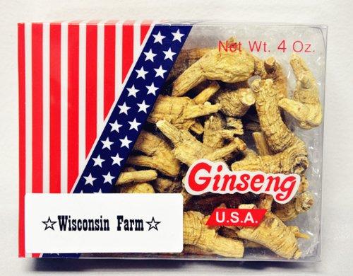 Premium Wisconsin Ginseng Small 4 Oz