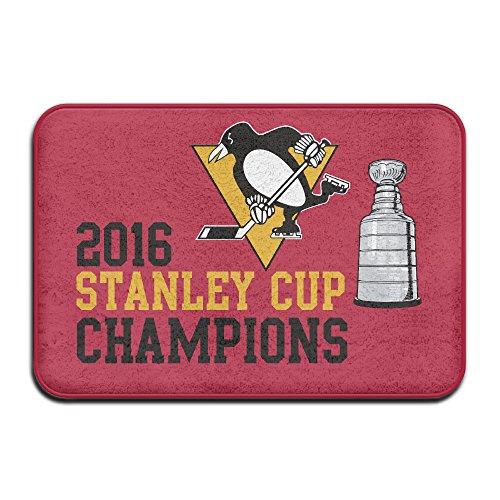 2016 Stanley Cup Champs Non-Slip Door Mat 23.615.7 Inch For Kitchen,Bathroom,etc.