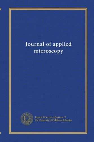 Journal Of Applied Microscopy