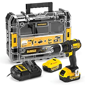 dewalt dcz785m2x 18v xr li ion 2 speed combi drill with 2 x 4ah batteries and charger old. Black Bedroom Furniture Sets. Home Design Ideas