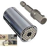 Mohoo Gator Grip 7-19mm Small Multi-function Hand Tools Universal Repair Tools Drill Adapter
