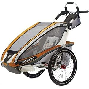 Chariot CX1 Stroller with Single Carrier, Copper by Chariot