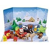 Ecoiffier 3109 - Abrick Adventskalender Winterzauber