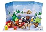Ecoiffier 3109 - Abrick Calendario de Adviento Magia del invierno