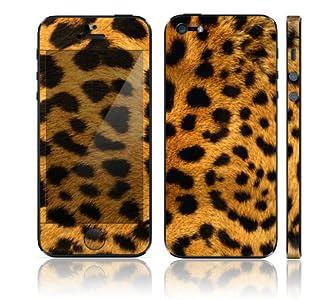 iPhone5 iPhone 5 スキンシール [I5-BZ6/チーター]