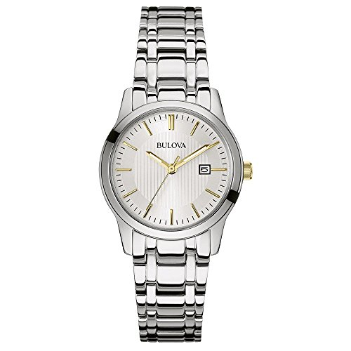 bulova-classic-dress-womens-quartz-watch-with-silver-dial-analogue-display-and-silver-stainless-stee