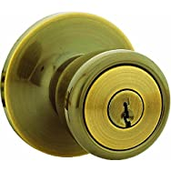 Steel Pro Entry Lockset-AB CP TULIP ENTRY LOCK
