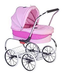 Valco Baby Classic Stroller, Pink Princess Doll, 19