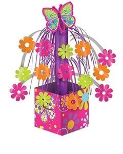 Creative Converting Butterfly Sparkle Mini Foil Cascade Centerpiece