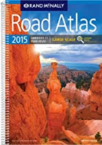Rand Mcnally 2015 Road Atlas Large Scale (Rand Mcnally Large Scale Road Atlas USA)
