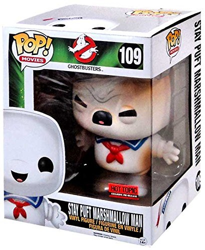 Funko Pop! Movies #109 Ghostbusters Stay Puft Marshmallow Man (Battle Damaged Hot Topic Exclusive) by OPP