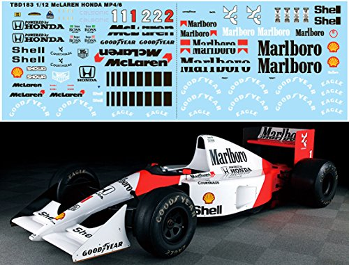 112-MCLAREN-MP46-FOR-TAMIYA-FULL-AYRTON-SENNA-DECALS-TB-DECAL-TBD183