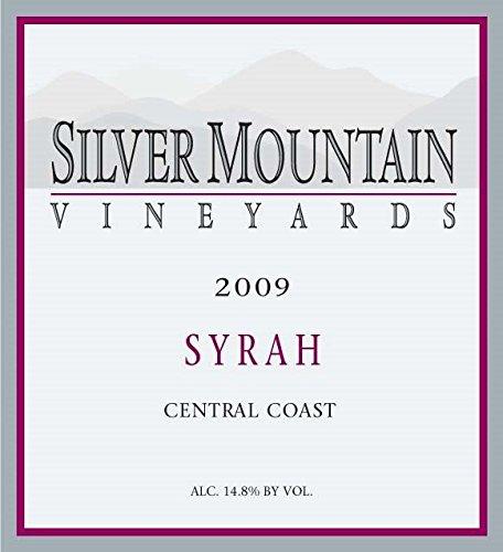 2009 Silver Mountain Vineyards Central Coast Syrah 750 Ml