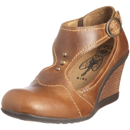 Fly London Women's Janie Camel Wedge Heel P141785000 7 UK Camel 7 UK