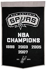 NBA San Antonio Spurs Dynasty Banner by Winning Streak