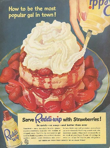 how-to-be-most-popular-reddi-wip-strawberries-ad-1951