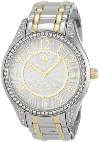 Juicy Couture Women's 1900796 Lively Two-Tone Bracelet Watch