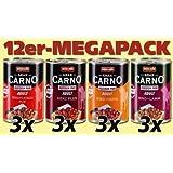 Animonda Megapack GranCarno Fleisch pur Mix1 12 x 400 g Dose - Hundefutter